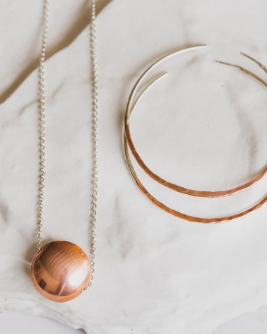 DillonRose Copper Orb Necklace