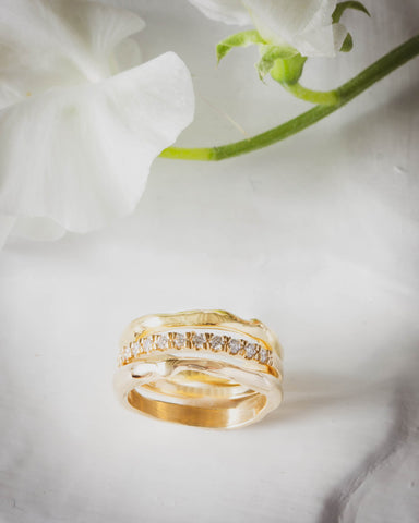 DillonRose Gold River Ring Custom Engagement Jewelry
