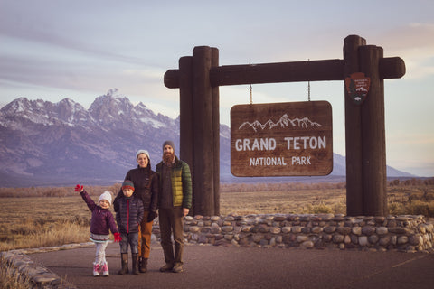 Family of silver and gold jewelers in the Teton Mountains