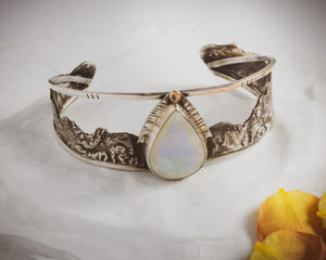 Moon Rise Mountain Cuff