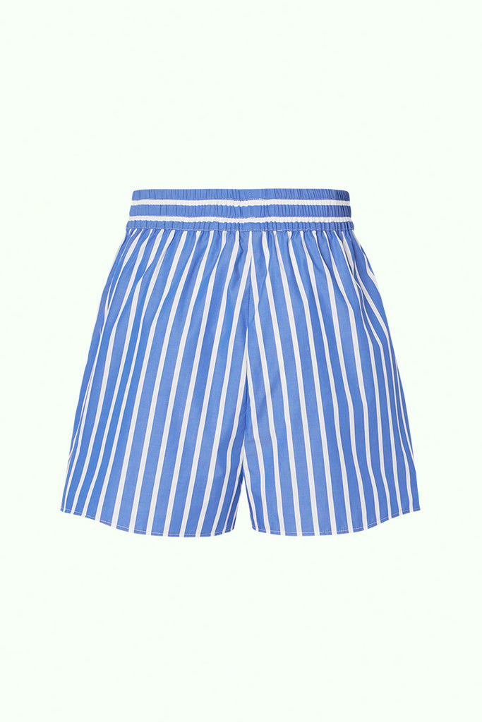 Boxer Short - Royal Blue Thick Stripe