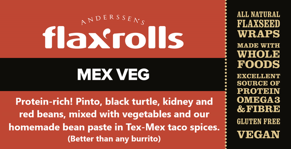 Mex Veg, Gluten-free, VEGAN. Better than a burrito! (Case of 30)