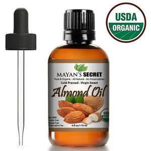 Organic Almond Essential Oil - Mayan's Secret
