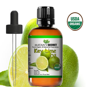 Bulk Organic Key Lime Essential Oil Wholesale - Mayan's Secret