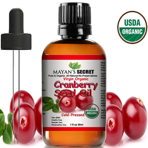 Organic Cranberry Seed Essential Oil
