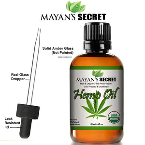 Organic Hemp Seed Essential Oil