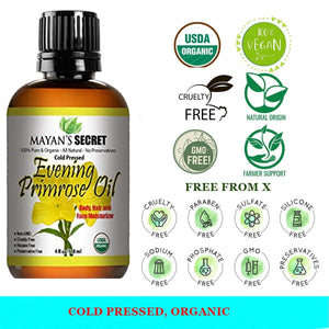 Organic Evening Primrose Essential Oil