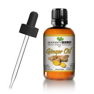 Mayan's Secret Ginger Root CO2 Essential Oil, 100% Pure Therapeutic Grade Oil, 1 oz - Mayan's Secret