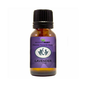 Mayan's Secret Lavender Essential Oil 100% Pure Undiluted, Therapeutic Grade, 10 ml - Mayan's Secret