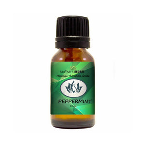 Mayan's Secret Peppermint Essential Oil, 100% Pure Undiluted, Therapeutic Grade, 10 ml - Mayan's Secret