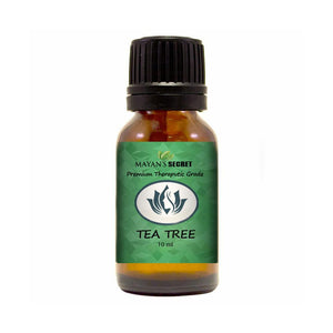 Mayan's Secret Tea Tree Essential Oil 100% Pure,Undiluted, Therapeutic Grade 10ml - Mayan's Secret