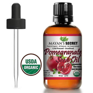 POMEGRANATE SEED OIL - VIRGIN ORGANIC-10ML