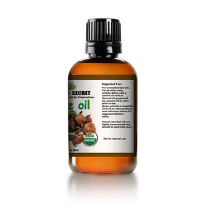 Mayan's Secret USDA Certified Organic Pure Clove Stem Essential Oil - Pure and Natural, Therapeutic Grade Large 1oz Bottle - Perfect for Aromatherapy, Relaxation, Skin Therapy & More - Mayan's Secret