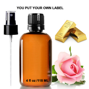 Rose Water 24k Gold Facial Toner