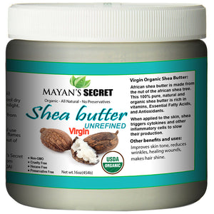 SHEA NUT BUTTER - VIRGIN ORGANIC