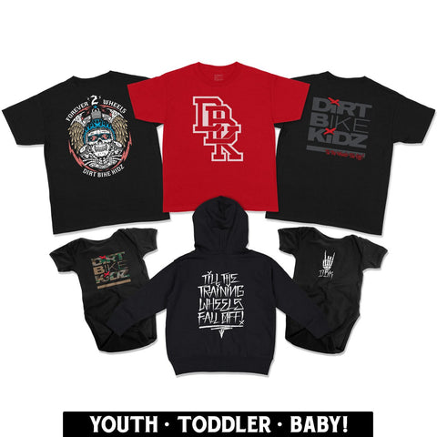 Youth Collection clothing for kids. T-shirts, sweatshirts and more!