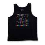 Rainbow Checkers - Toddler Girls Tank
