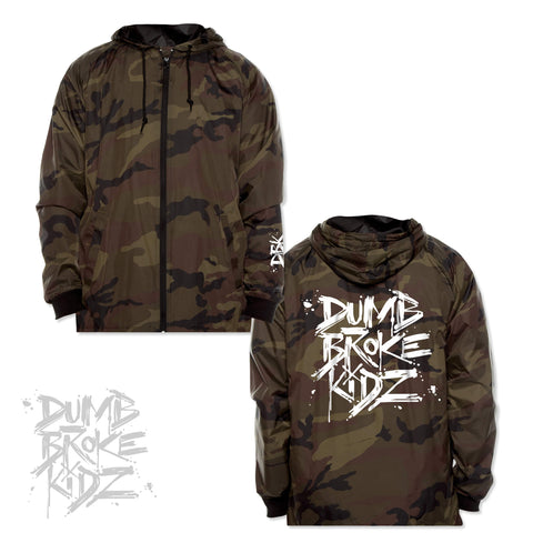Broke - Camo Windbreaker