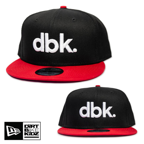 DBK Basics - Red/Black Snapback