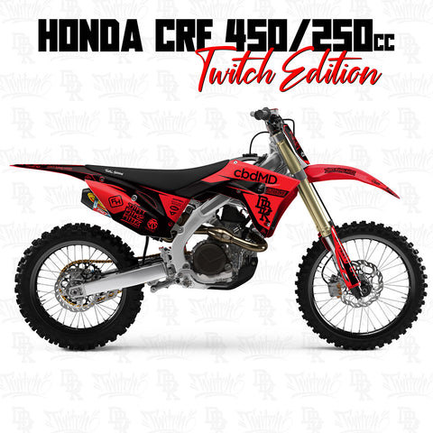 Honda CRF450/250 Twitch Edition