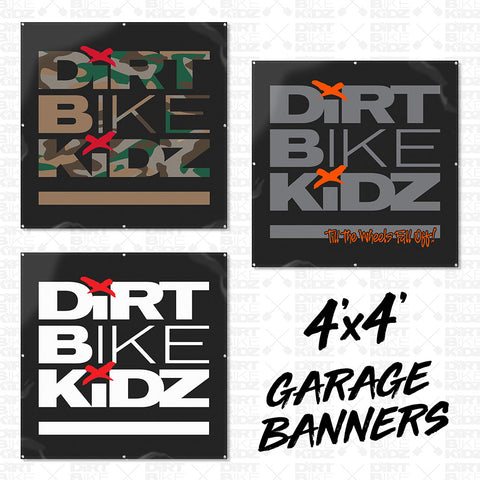 The Classics - 4x4 Garage Banners