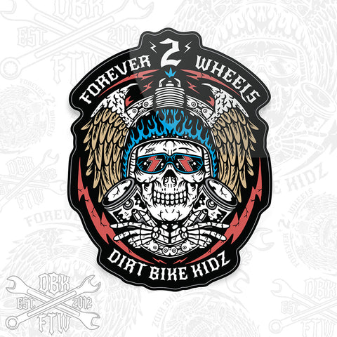 Sticker - Forever 2 Wheels