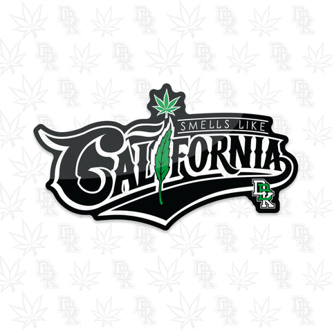 Sticker - Smells Like California