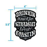 Sticker - Straight West Coastin