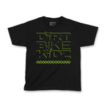 Green Checkers - Youth Boys Tee