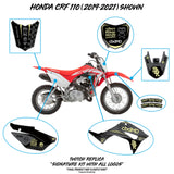 Honda CRF 110/50 Faded (BLK/YLW)