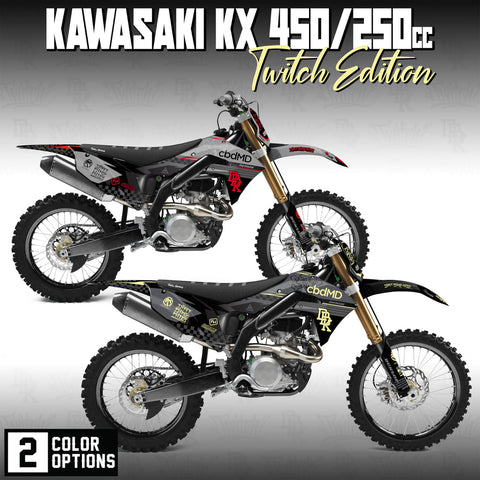 Kawasaki KX450f/250f Faded Edition