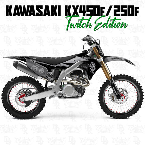 Kawasaki KX450f/250f Twitch Edition