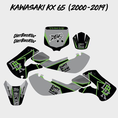 Kawasaki KX 65 Graphics Kit (2000-2019)
