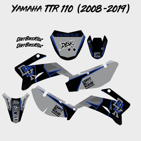 Yamaha TTR 110 Graphics Kit (2008-2019)