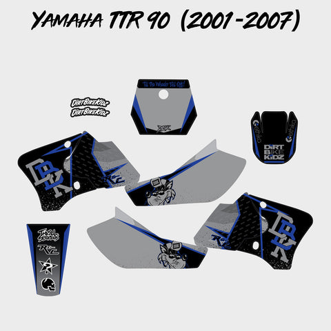 Yamaha TTR 90 Graphics Kit (2001-2007)