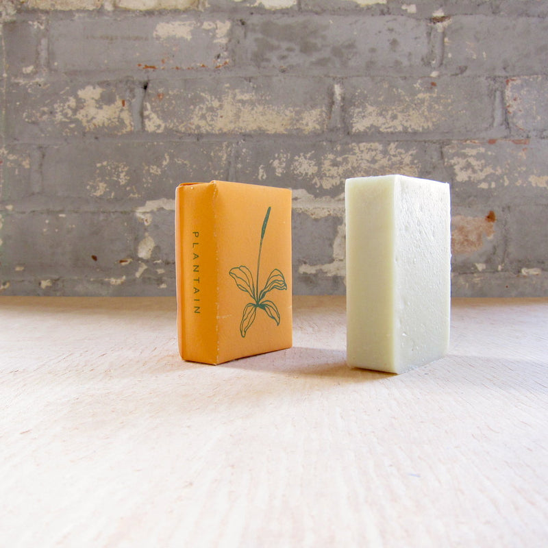 Plantain Soap - sariKNOTsari slow fashion bryn walker linen Hamilton sustainable fashion gifts sari not sari Hamilton Fair trade  Ethical  Artisan made  Zero waste  Up-cycled Slow Fashion  Handmade  GTA Toronto Copper Pure Upcycled vintage silk handmade recycled recycle copper pure silk travel clothing hamilton vacation cruisewear resortwear bathing suit bathingsuit vacation etsy silk clothing gifts gift dress top pants linen bryn walker alive intentions kaarigar elephants