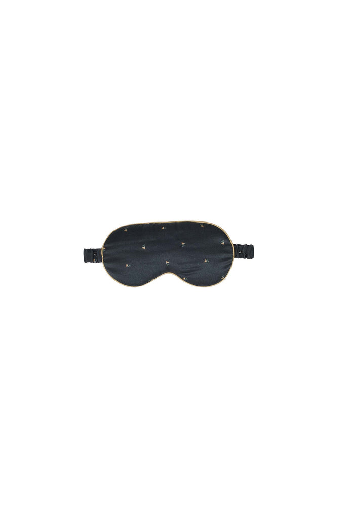 Hike and Seek Printed Silk Satin Eyemask