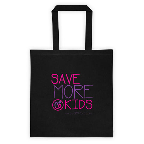 SMK Black Tote Bag