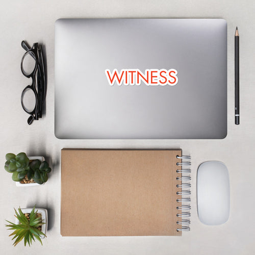 WITNESS Stickers