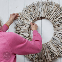 Advanced Driftwood Wreath Class