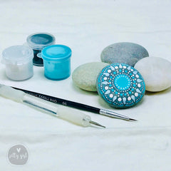 DIY Mandala Beach Stone Painting Kit