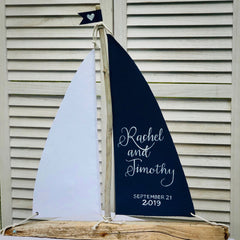 Driftwood Sailboat - Extra Large 24