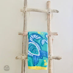 Driftwood Blanket Ladder - 5' Handmade Quilt Ladder