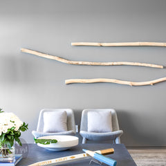 Driftwood Curvy Branch for Coastal Wall Decor