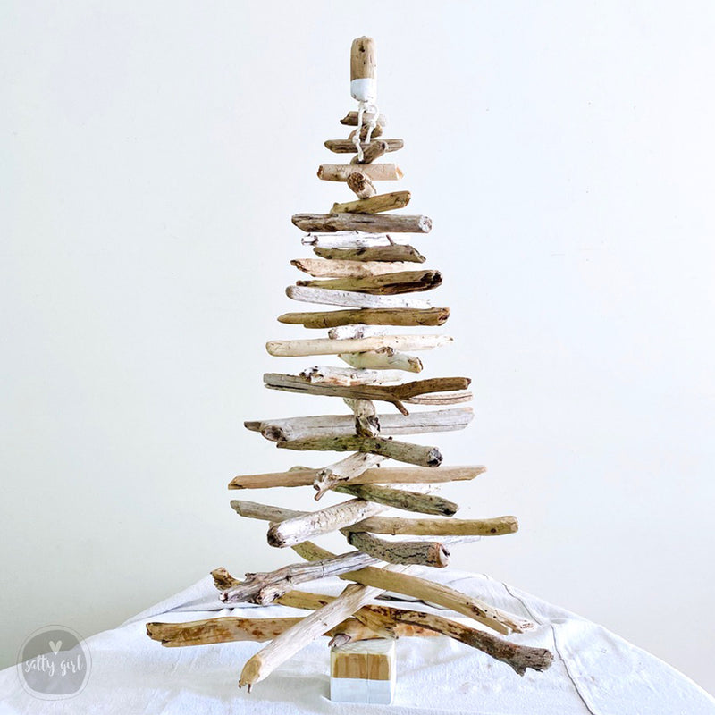 Driftwood Christmas Tree - 3 Ft Maine Made Driftwood Tree