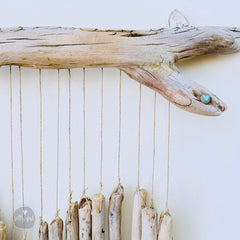 Driftwood Hanging Heart Wall Decor