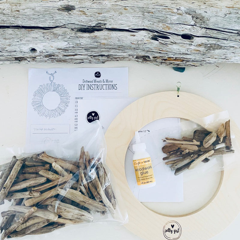 DIY Driftwood Wreath Kit
