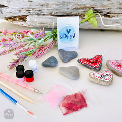 Heart Stone Mandala Painting Kit