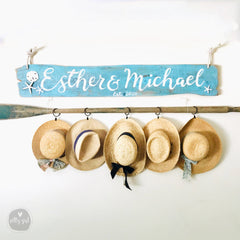 XL Personalized Driftwood Sign 5-6'