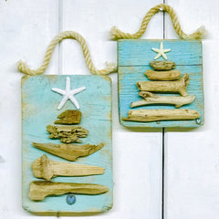 Driftwood Christmas Tree Wall Hanging